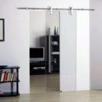 Как выбрать дверь для маленького помещения?