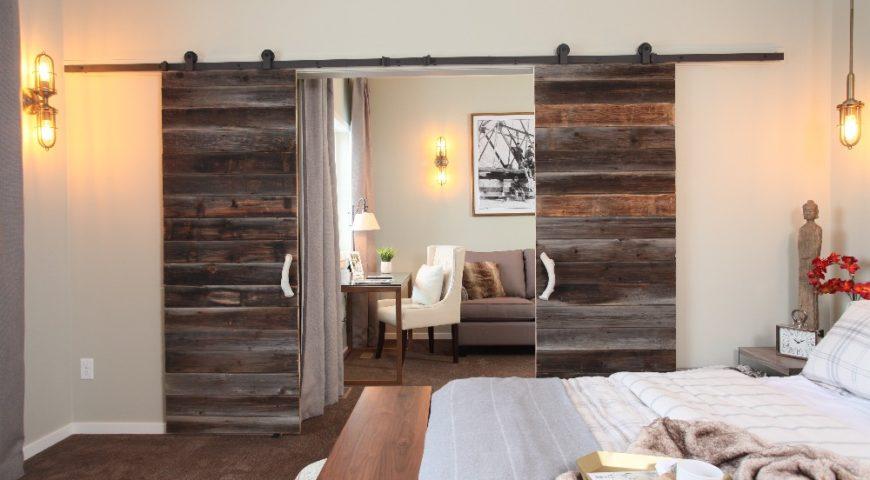Межкомнатная дверь в эко-стиле