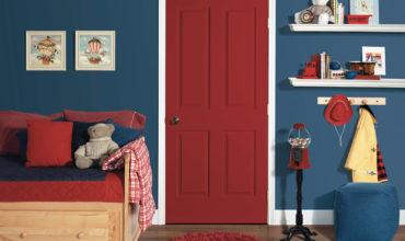 Как выбрать дверь в детскую комнату?